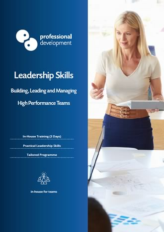 Leadership Skills Course Brochure