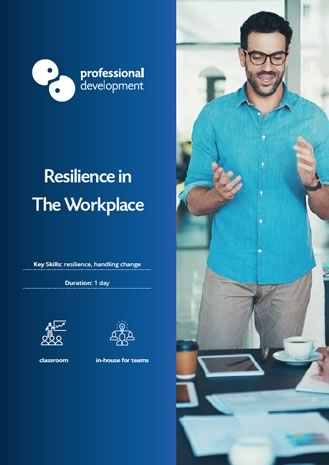 Resilience Training Brochure
