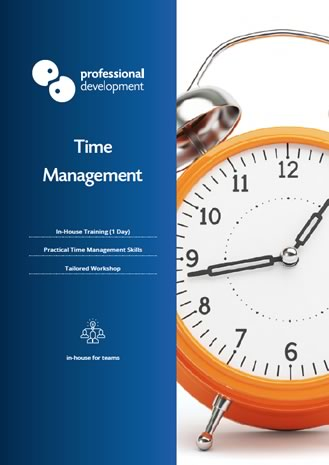 Time Management Course Brochure
